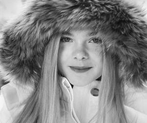 cold and Elle Fanning image
