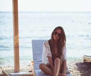 summer, beach, and kenza image