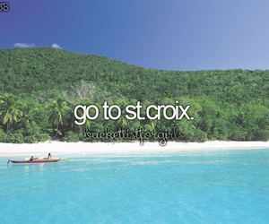 blue, travel, and st.croix image