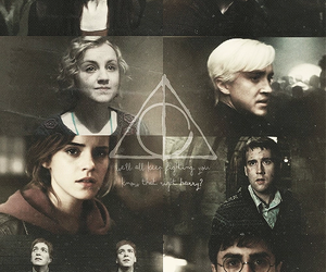 always, draco malfoy, and harry potter image