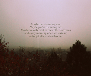Dream, text, and quote image