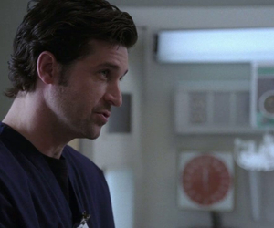 greys anatomy, patrick dempsey, and derek shepherd image