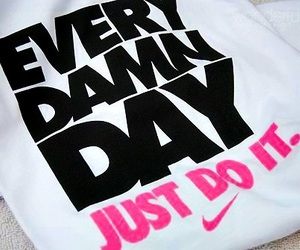 nike, Just Do It, and pink image