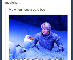 frozen, funny, and hilarious image