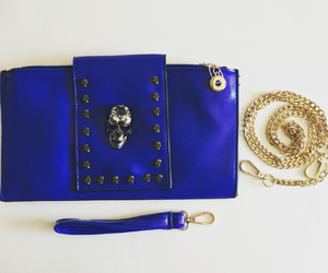 accessories, luxury, and royal blue image