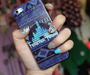 disney, iphone, and case image