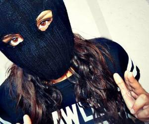 bad girl, narco, and capucha image