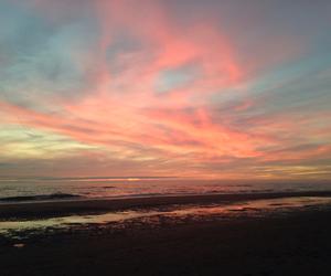 beautifull, sea, and sky image