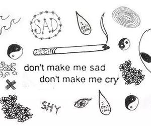 sad, lana del rey, and cry image