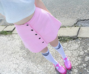 pink, cute, and style image
