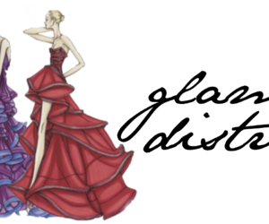 dress, fashion, and painting image