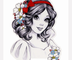 disney, art, and princess image
