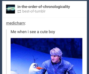 cartoon, frozen, and funny image