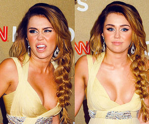 braid and miley cyrus image