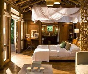 bed, cottage, and amazing place image