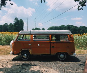 adventure, bus, and car image
