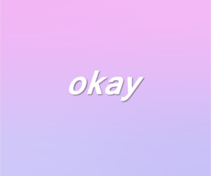 ok and okay image