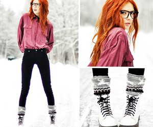 beauty, cool, and fashion image