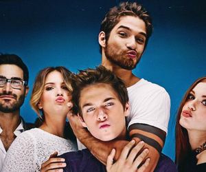teen wolf, tyler posey, and cast image