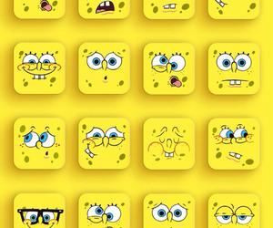 background, spongebob, and wallpaper image