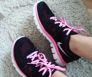 black, pink, and Just Do It image