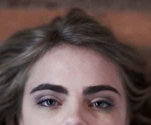 cara delevingne, model, and eyebrows image