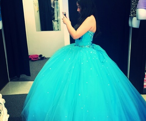 quinceanera and dress blue 15 image
