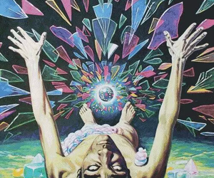 drugs, lsd, and psychedelic image