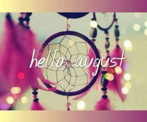 August, dreamcatcher, and welcome image