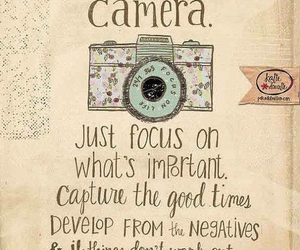 camera, life, and quotes image