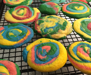 baking, colors, and Cookies image