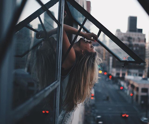 girl, beauty, and city image