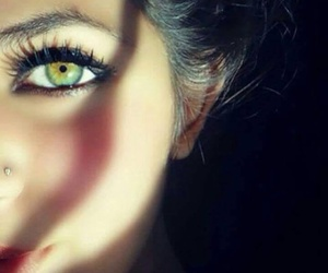 color, eyes, and green image