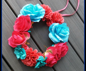 accessories, blue, and coral image
