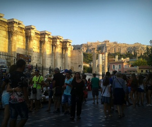 Athens, Greece, and akropolis image