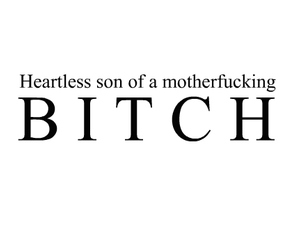 bitch, heartless, and mother image