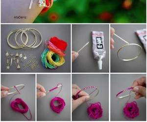 bracelets, colorful, and crafts image