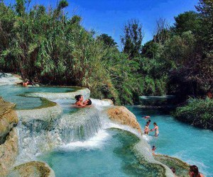 water, nature, and italy image