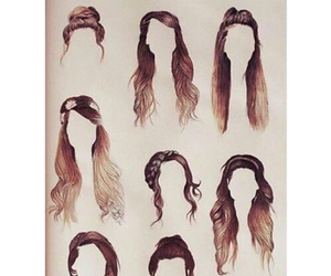 hair, hairstyle, and zoella image