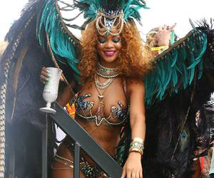 rihanna and barbados image