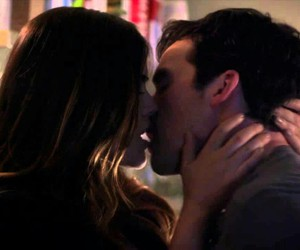 kiss, weheartit, and pll image