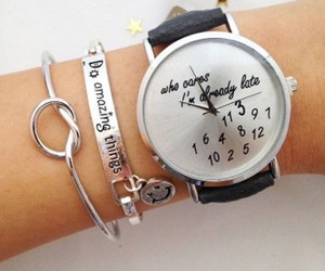 fashion, girly, and watch image