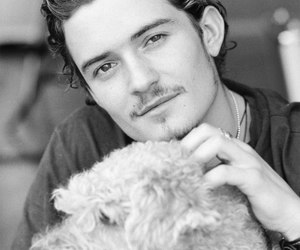 dog and orlando bloom image