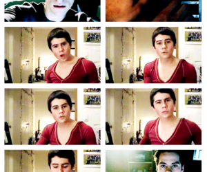 dylan obrien, funny, and teen wolf image