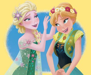 sisters and elsa and anna image
