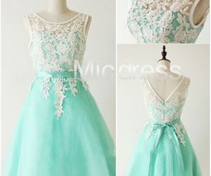 cocktail dress, party dress, and bridesmaid dress image