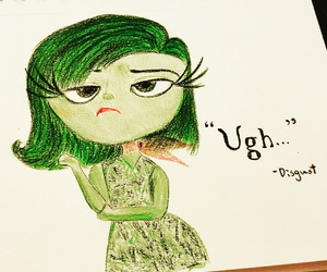 disgust, disney, and drawing image