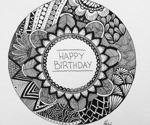 artwork, birthday card, and card image