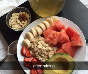 FRUiTS, breakfast, and food image