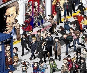 supernatural, doctor who, and sherlock image